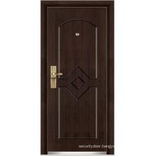 Steel Wooden Armored Door (YF-G9018)