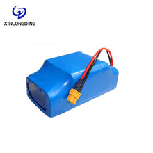 XLD Factory price 10S2P 158Wh Li Ion 18650 36V 4.4Ah 4400Mah Li-Ion Lithium Hoverboard Battery Pack