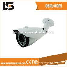 aluminum surveillance housing cnc cctv camera parts
