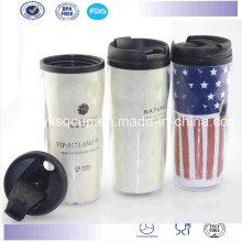 Viaje Starbucks taza, taza café, taza/vaso de plástico de doble pared