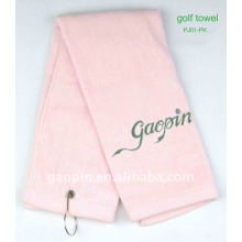 100% Cotton soft golf head towel