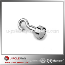 D30mm Good Quality Permanent Pot Magnet with Hook