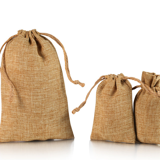 Jute tote pouch 001