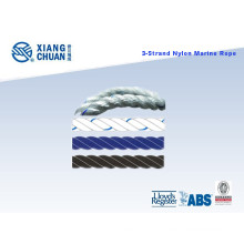 Dnv Approved 3 Strand Nylon Rope Polypropylene Rope PP Rope Polyester Rope