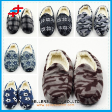 Men's slippers winter home slippers warm cotton-padded indoor slipper