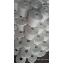 Fil d'usine de polyester d'anneau de fournisseur d'usine pour tricoter