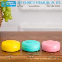 WJ-ET série nova chegada diferente superfície revestimento cor personalizável alta qualidade 50g e frasco de creme cosmético da pp 80g