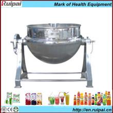 Industrial Double-Layered Steam Cauldron Pot (JCG-50)
