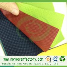 Tecido não tecido de polipropileno para sacolas de compras