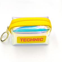 Technic style laser TPU coin purse