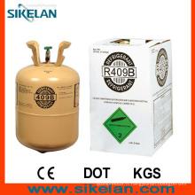 Non combustible, réfrigérant R409b Gaz réfrigérant mélangé avec bon effet