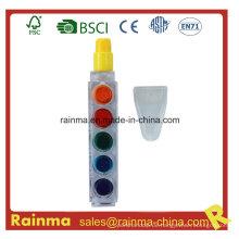 6 Farbe Muilt Kreide Kugelschreiber für Werbegeschenk