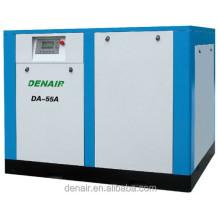 DENAIR high quality 75 hp 55kw screw air compressor