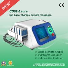 Lipoaspiração Profissional Laser 650nm Slimming Máquina CS02