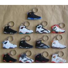 Custom PVC Shoes Keyring Keychain Key Ring Chain for Souvenir