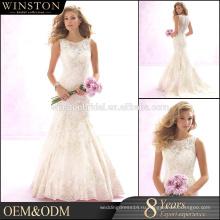 Высокое качество на заказ свадебные платья со съемными юбка
