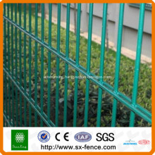 double wire mesh fence panel
