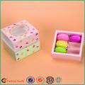 Drawer Macarons Packing Box Printing Window
