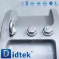 Didtek WCB 150LB Válvula de retención de doble placa de 10 pulgadas