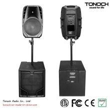 0 Risiko! 10 Jahre Herstellungserfahrung Factory Supply Tonoch Subwoofer - THR15L Active Speaker Box