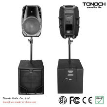 0 Risk! 10 Years Manufacture Experience Factory Supply Tonoch Subwoofer - THR15L Active Speaker Box