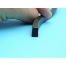 Selo de silicone de qualidade superior de espuma quadrada usado para borracha leve Trafic