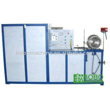 Spiral wire reinforced aluminum flexible duct forming machine