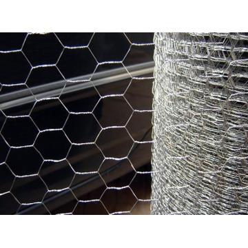Гальванизированная железная шестигранная проволочная сетка