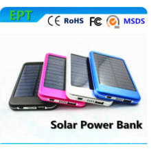 6000mAh Solar Power Bank Panel Charger with LED Light