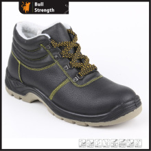 Winter Leather Safety Boots with Fur Lining (SN5208)