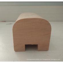 Mueble barandilla de madera de fresno con tienda online de agujeros