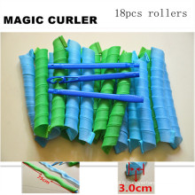 18PC / 75cm Large Magic Curler Roller (HEAD-59)