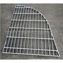 Jimu Shaped Steel Grating Panels Hot DIP Galvanized Forgebar Grating Plain or Serrated