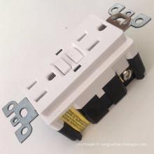 Certification UL GFCI réceptacles électriques colorés