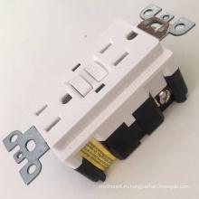 Сертификация UL УЗО цветные электрические розетки
