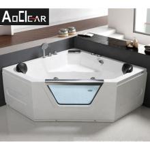 Aokeliya indoor jet massage dig  enamel bath tub  bathtub with jets