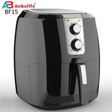 Fritadeira Elétrica de Ar Forno Fogão com Controle de Temperatura Antiaderente Cesta de Fritura 5,5L Fritadeira Super Extra Grande