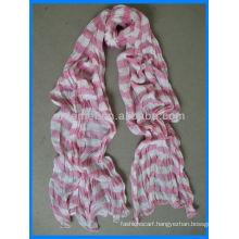 crinkle cotton stripes korea scarf distributor