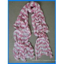 Хрустальные хлопковые полоски дистрибьютор корейского шарфа
