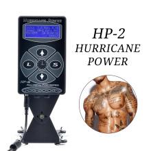 Professional Hurricane HP-2 Tattoo Machine Power Supply Dual Intelligent Digital LCD Rotary Tattoo