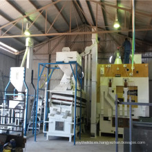 Planta de limpieza de semillas de cebada a 10 toneladas por hora