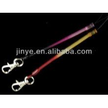 Corde de saut à la corde de longe de keychain de PVC