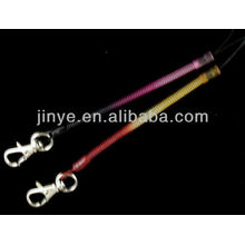 PVC keychain lanyard bungee cord