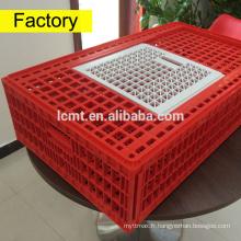 Cage de transport en plastique de poulet de nouveau bétail à vendre