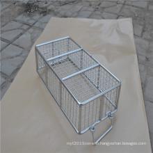 Big capacity stainless steel wire mesh storage basket