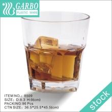8oz Durable personnalisé Unbreakable Plastic Whisky Cup