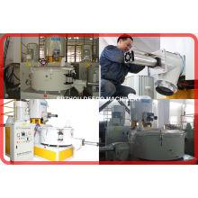 Machine en plastique de PVC chaude ou froide de mélangeur