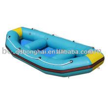 barco de pesca de embarcaciones neumáticas de rafting