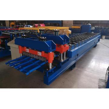 Machine de fabrication de toit de tuiles émaillées en tôle