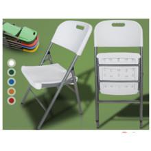 Cadeira plegável de plástico portátil leve
